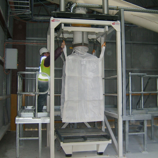Trade Approved Bulk Bag (FIBC) Filling Station