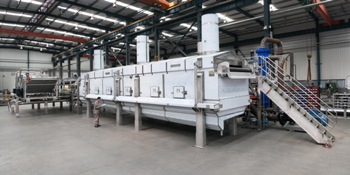 Heat and Control builds french fry and formed potato product fryer systems for up to 22.6 metric tons/hr.