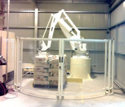 H&C Basic Robotic Bag Palletiser.