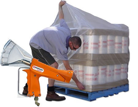 Pallet Shrink Bags and Gas Gun