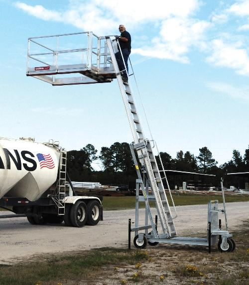 Portable Truck Access Platform System Platform Tc10