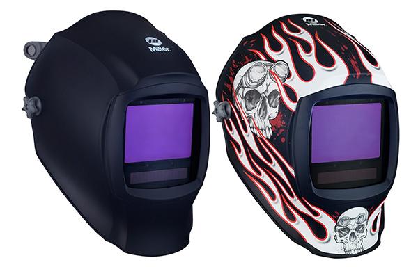 Welding helmet adflo