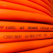 AS Orange Circular Electrical Distribution Cables