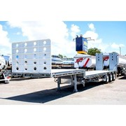 Drop Deck Trailer With Ramps | 13.7m