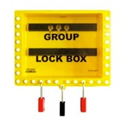 Wallmounted Group Lockout Box | GLB-8 Lockout Box