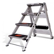 Safety Step Stair Ladder 4 Steps No Rail 0.92m
