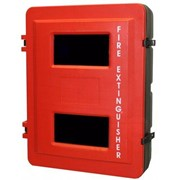 Double Fire Extinguisher Cabinet
