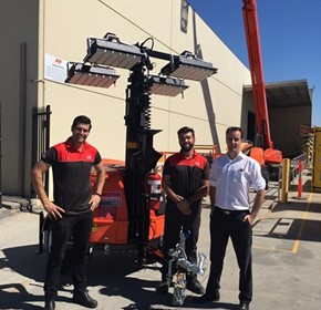 Shining a light on JLG service