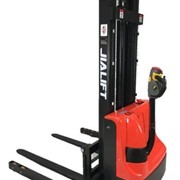 1T Fully Electric Walkie Stacker/Pallet Stacker Straddle Leg