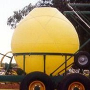 Spherical tank for water or chemicals