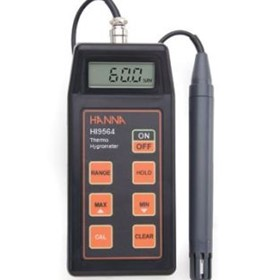 Thermo-Hygrometer with Calibration Data-Logging Probe | HI 9564
