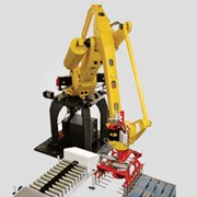 Robotic Palletiser: latest generation palletising industrial robot