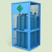 9 Cylinder Gas Storage Cage Only | AGC01C