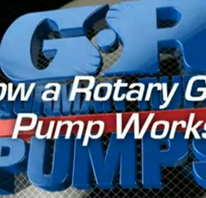 How a Rotary Gear Pump Works