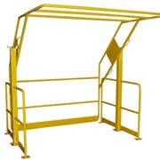 Double Acting Pallet Safety Gates - Powder Coated