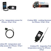 iCelsius Temperature and Humidity Probes for iPhone and iPad