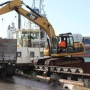 Excavator scales keep barge on its tight cycle