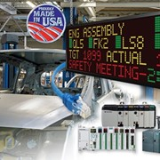 Industrial LED Marquee Display | EZAutomation