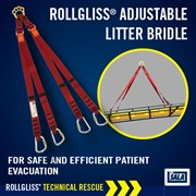 Adjustable Litter Bridle | Rollgliss | Rescue & Confined Space