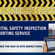 Site Inspection and Safety Reporting Service | Capital Safety