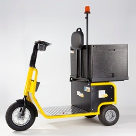 Battery Electric Tug with 120L Container | Skatework