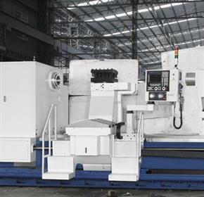 Large CNC Lathe / 2500mm Swing x 3000mm, 210mm bore