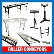 Roller Conveyor Systems & Stands