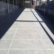 Club's slippery tiled ramp issue solved