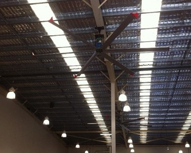 SkyBlade Fan installed in Central Queensland