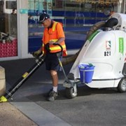 Whitehorse City Council introduces zero emission litter vacuum