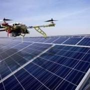 Photovoltaic thermography from the air