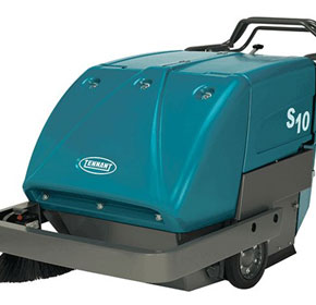 Industrial Walk-Behind Sweeper | Tennant S10