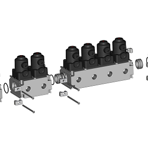 Gemu Australia supplies compact and versatile multi-port valve blocks