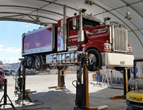 Wireless Mobile Truck & Bus Hoists | HETRA RGA