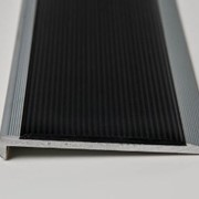 Stair Nosing | Black Slimline with Anti Slip Polyurethane