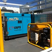Airman portable air compressors provide safety for Melbourne company