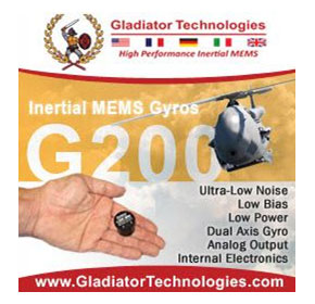 New G200 High Performance Dual Aix Analogue Gyroscope