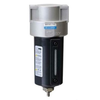 Maintenance of pneumatic filters