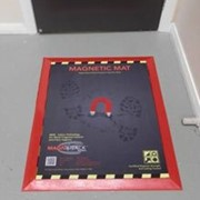 Magnetic transfer control mats
