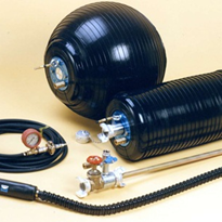 New cost-effective Pronal Vari-Plug inflatable pipe stoppers