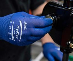 Employees must have work gloves that protect yet enhance their ability to perform their jobs.