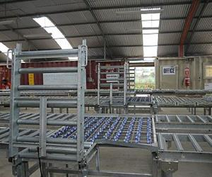 Static roller beds and other manual handling aids can minimise the stress of manual labour.