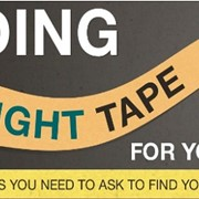 Choosing the right packaging tape