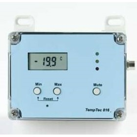 Temperature Data Logger with External Thermistor Sensor | TempTech816