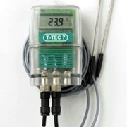 Temperature Data Logger with Two Thermistor Sensors | T-TEC F