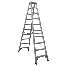 Aluminium Double Sided Step Ladder 150 kg 10ft 3.0m | CLIMBMAX