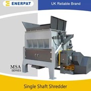 Economic Plastic Films Single Shaft Shredder Machine | MSA-N2200
