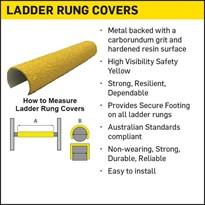 Antislip Ladder Rung Covers