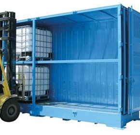 Dangerous Goods Storage | Outdoor Relocatable | 6000L Bulkibox