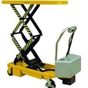 Battery Powered Double Scissor Lift trolley | ETFD35
